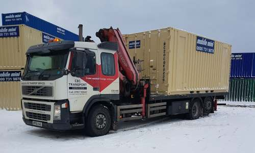 Hiab Hire & Haulage in Liverpool